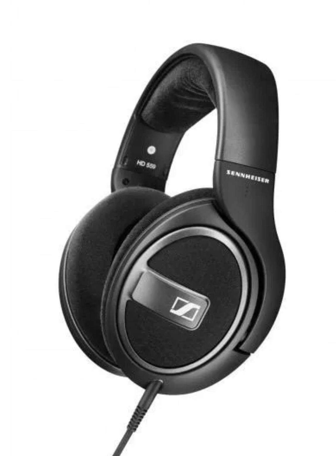 Słuchawki nauszne Sennheiser HD559 czarne. Amazon.de