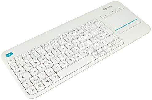 Logitech K400 Plus Touchpad klawiatura bezprzewodowa kolor biały, Amazon.de [Darmowa wysyłka z prime]