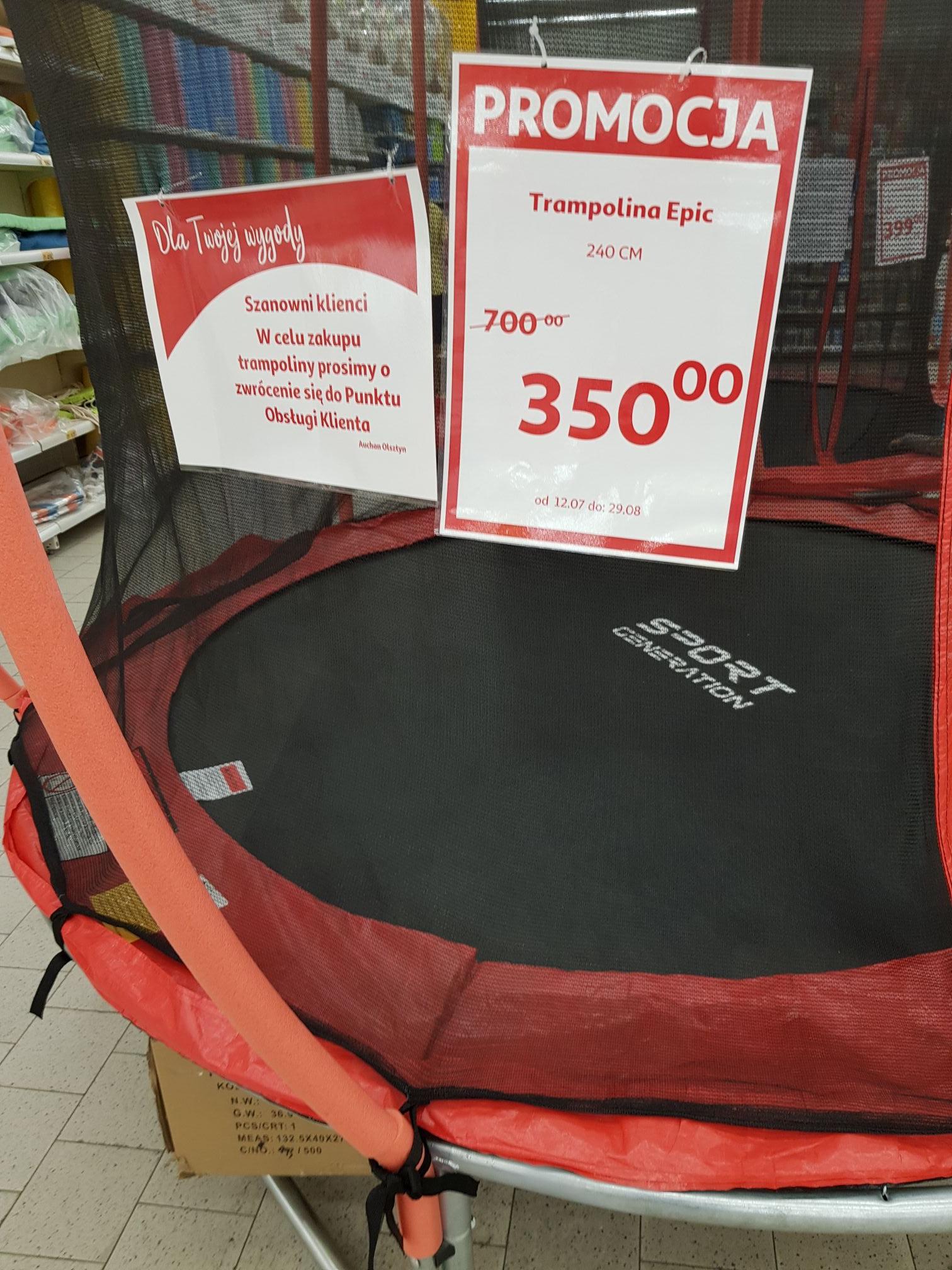 Trampolina ogrodowa Auchan