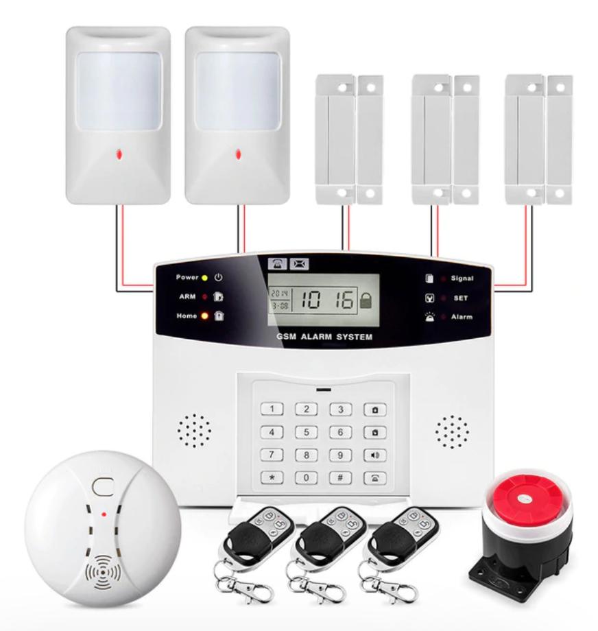 [Aliexpress] Zestaw alarmowy GSM FUERS DP500