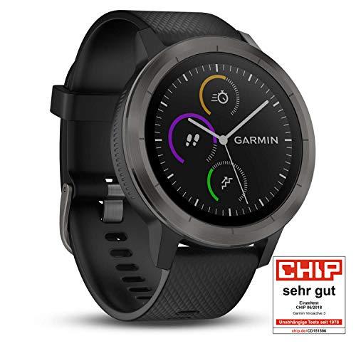 Garmin Vivoactive 3 - kolor Gunmetal (czarny) z Amazon.de dla posiadaczy Amazon Prime