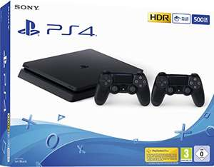 PS4 slim + 2 pady z amazon prime day