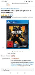 Call of duty black ops 4 PS4 Amazon