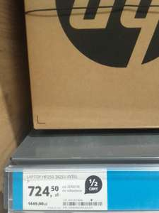 laptop hp250 3825U