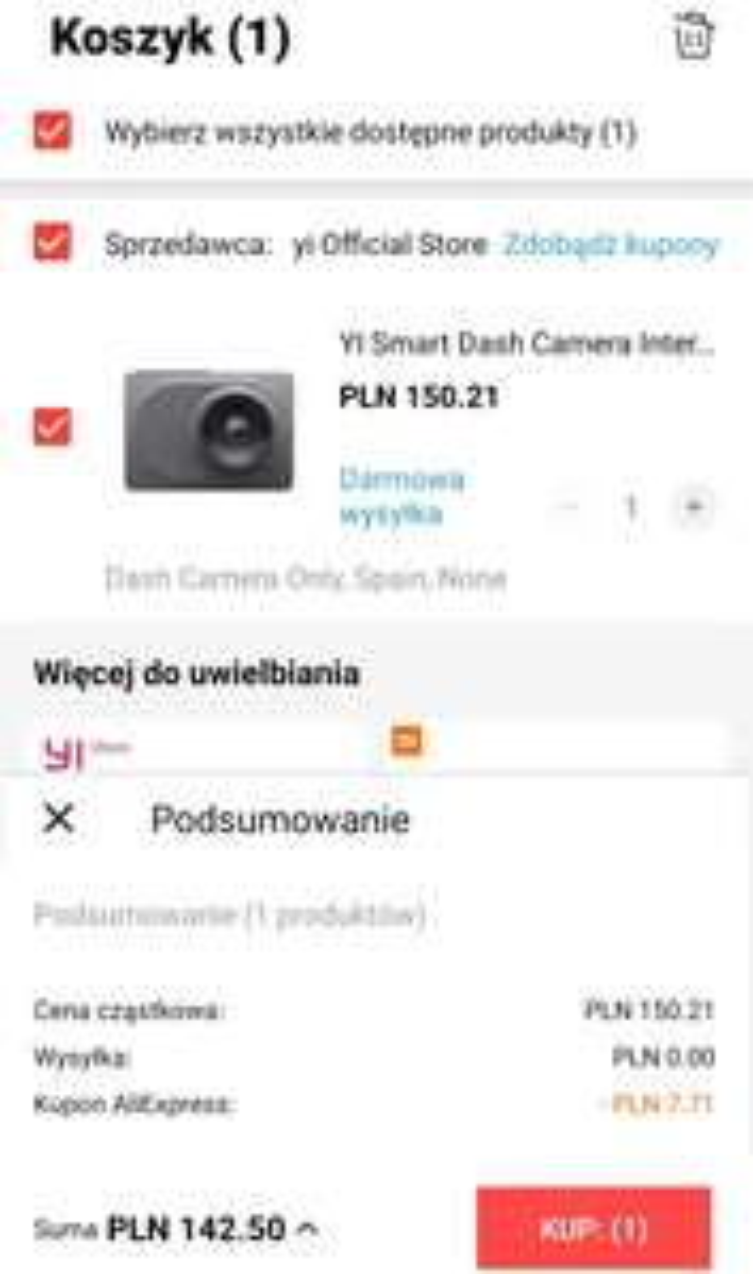 Yi Smart Dash Camera