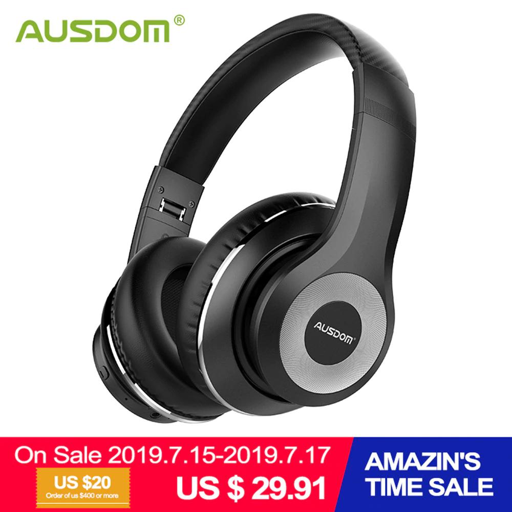 Słuchawki bluetooth 5.0 Ausdom ANC10 (aktywna redukcja szumów)