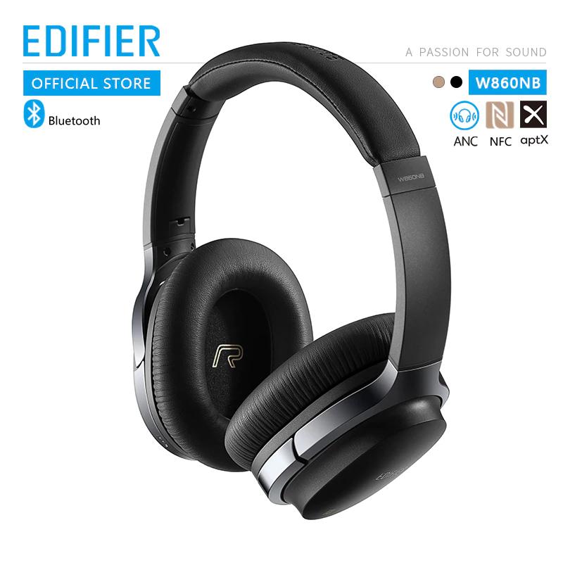 Słuchawki bezprzewodowe Edifier W860NB z dostawą z Francji (redukcja szumów, AptX, NFC) @ Aliexpress