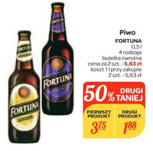 Piwo Fortuna @ Carrefour