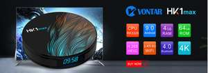 Smart TV Box HK1 Max 4/64GB Android 9.0