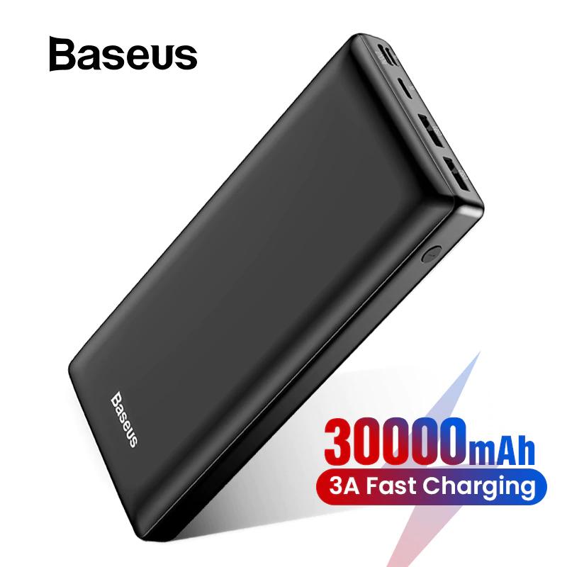 Baseus PowerBank 30000 mAh - dwa kolory
