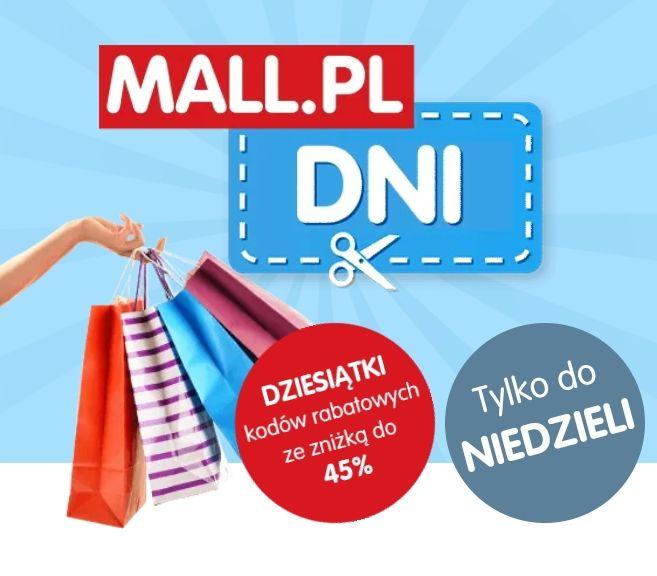 Mall.pl kody rabatowe - również na produkty wyprzedażowe -15 do 45%