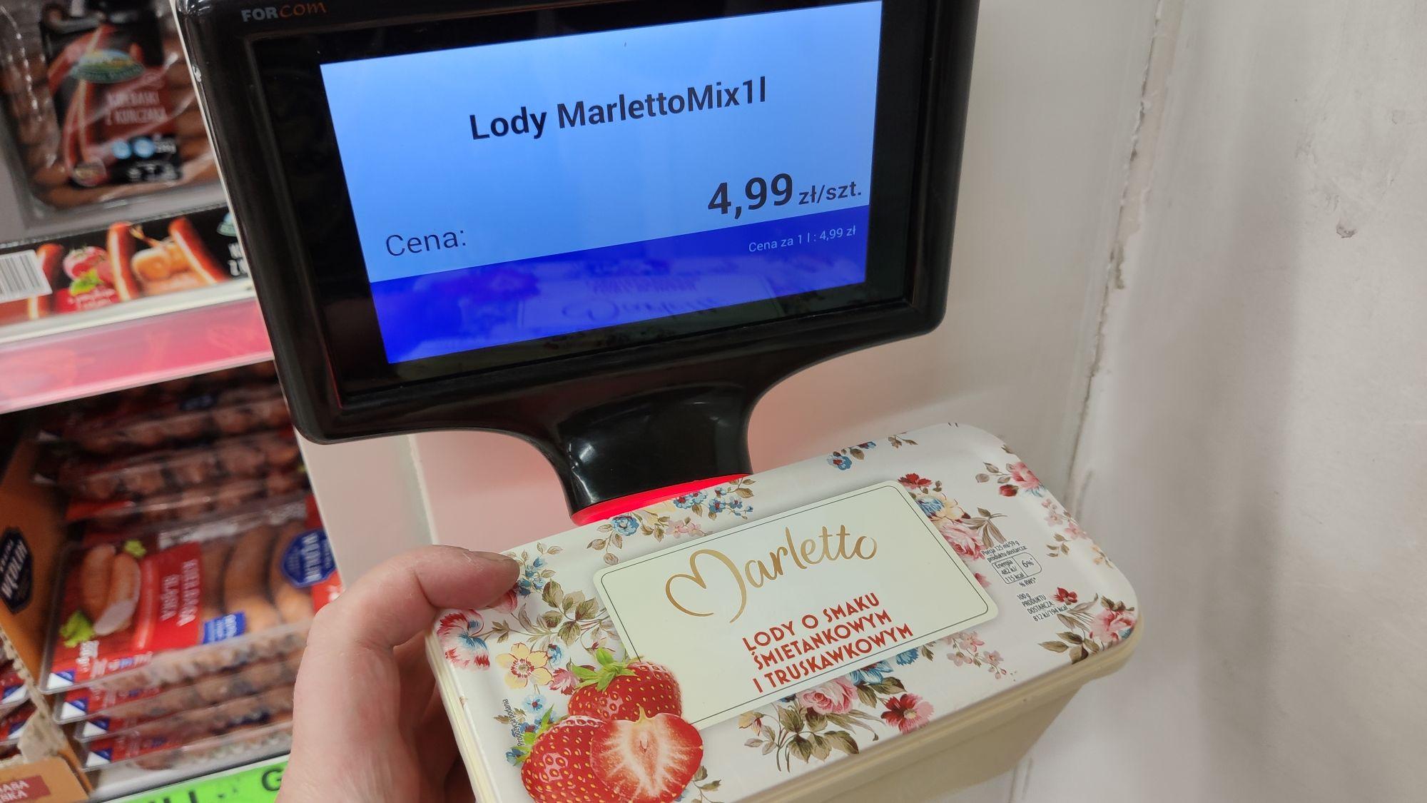 (Błąd cenowy?) Lody Marletto 1L, różne smaki w śmiesznej cenie. Biedronka