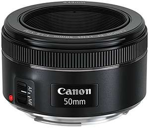 Canon EF 50mm f/1.8 STM Amazon Prime