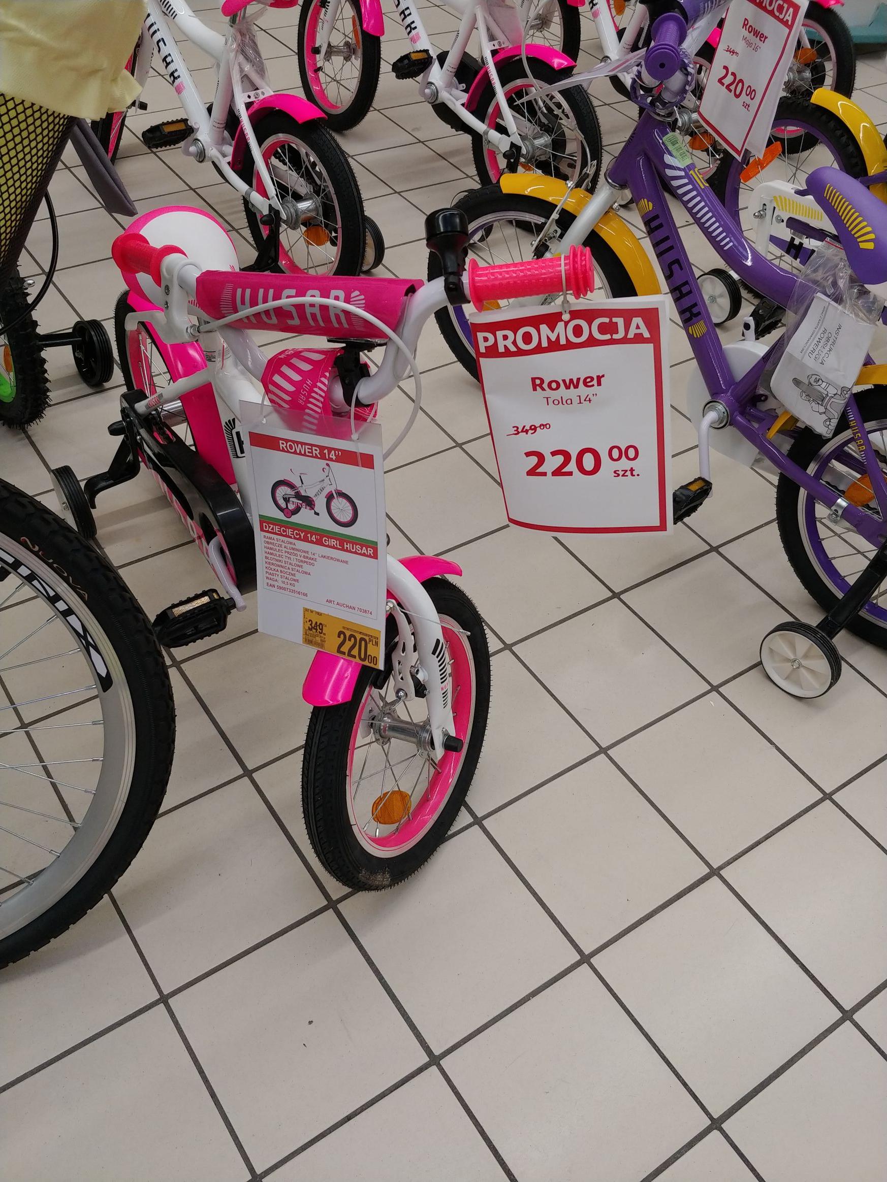 """Rower dziecięcy tola 14"""""""