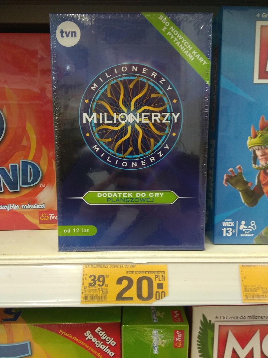 Dodatek do gry Milionerzy hulahop.pl / Auchan Toruń