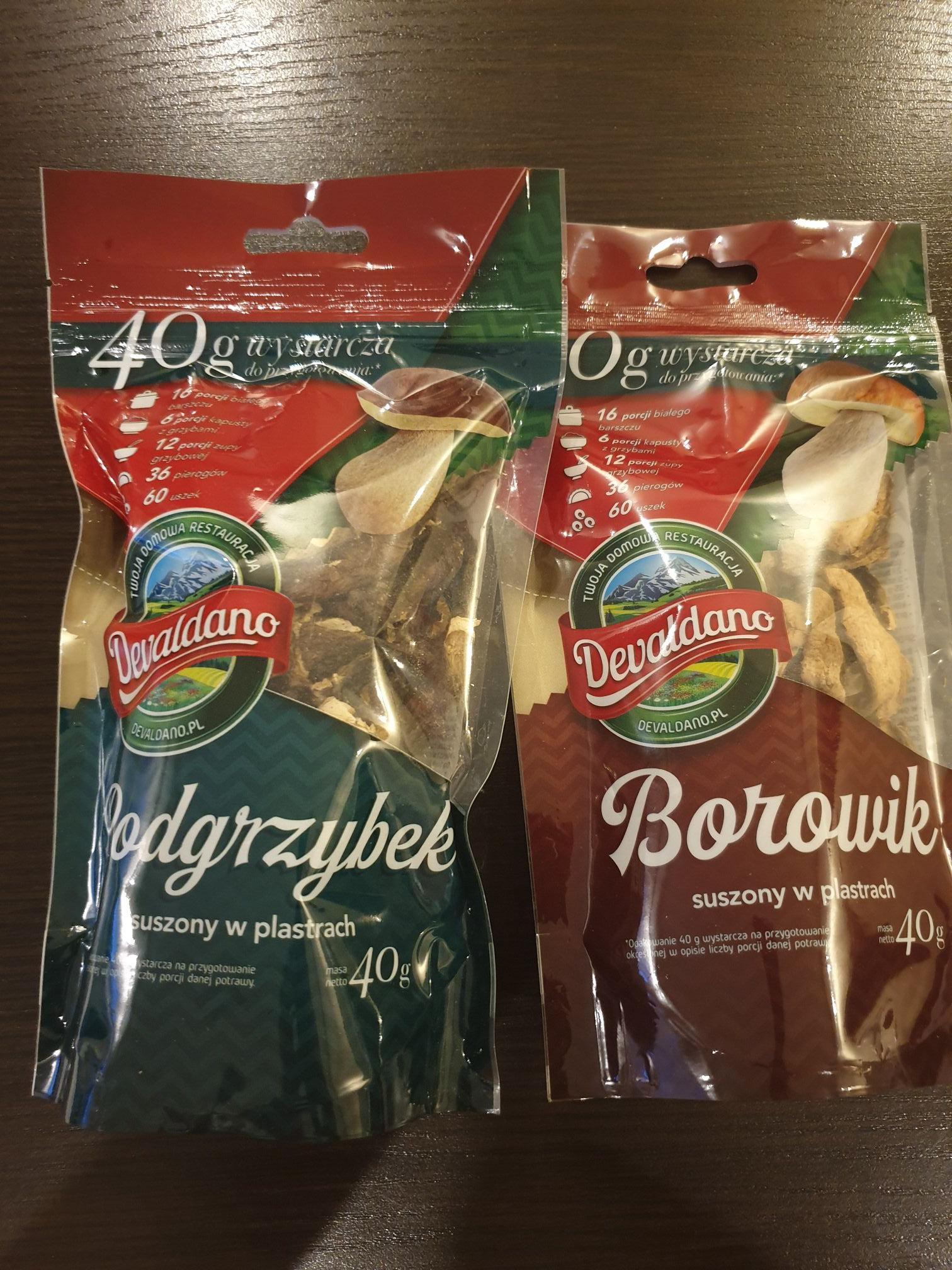 Lidl - Suszone borowiki lub podgrzybki
