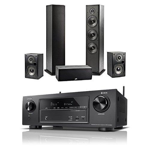 DENON AVR-X1400H + POLK AUDIO T50/30/15