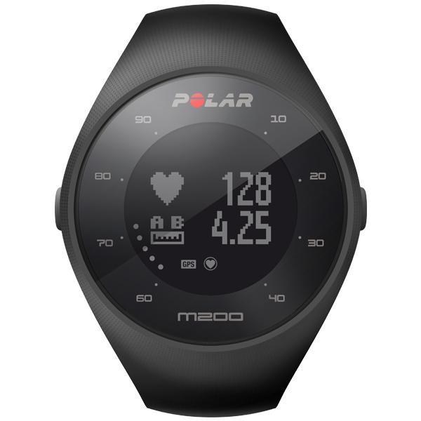 [Prime] Zegarek sportowy Polar M200 czarny/biały