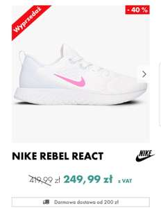 NIKE REBEL REACT  Damskie