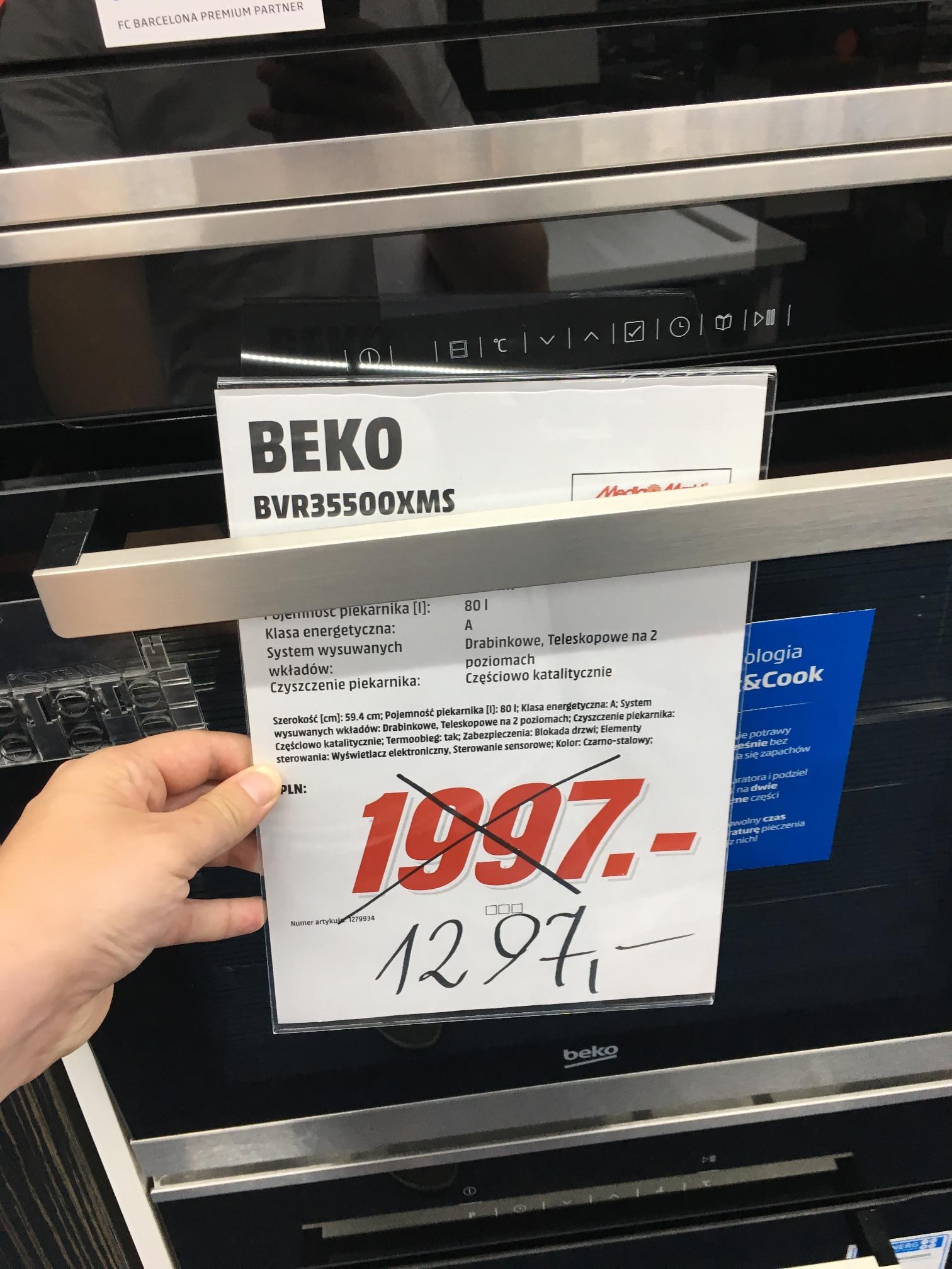 Piekarnik BVR35500 XMS