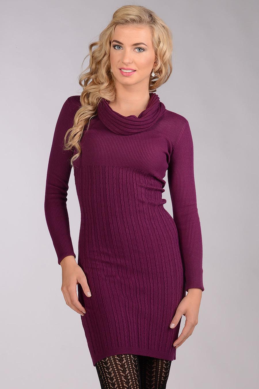 Sweterkowa sukienka z kominem za 47,20zł @ Avaro.pl