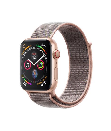 [AMAZON PRIME] Zegarek Apple watch Series 4 (GPS + Cellular) 44 mm w kolorze złotym i różowy piasek 404 EUR