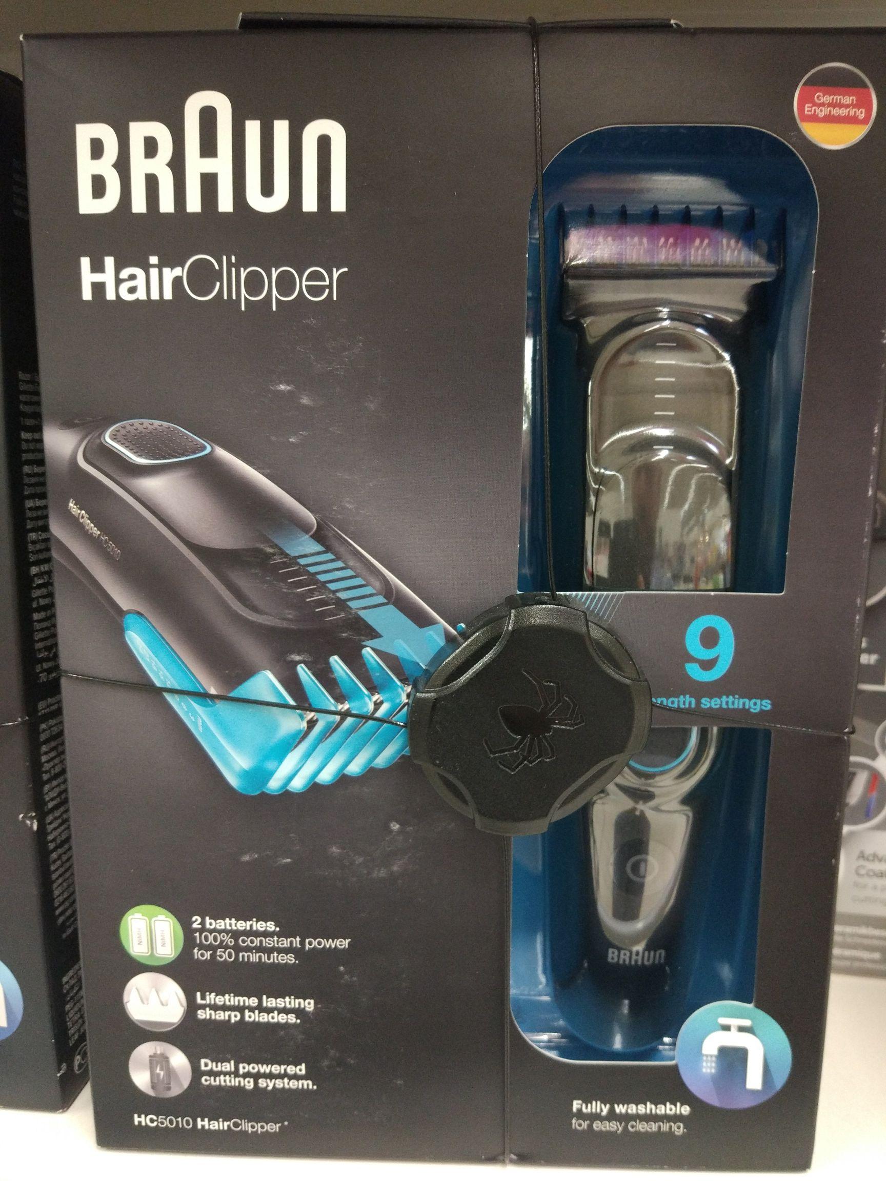Braun HC5010 HairClipper Maszynka do strzyżenia włosów @Tesco