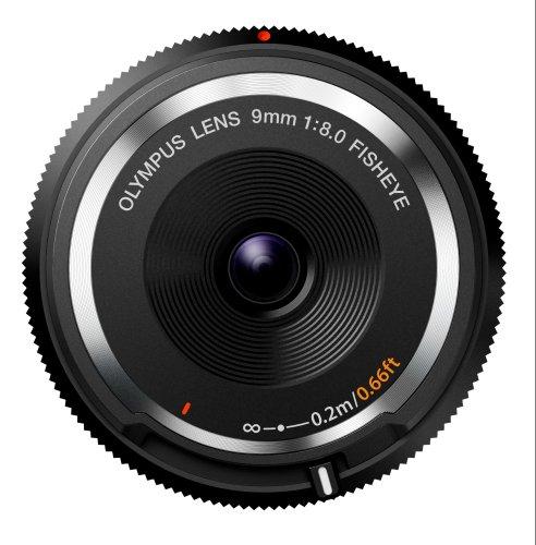 Obiektyw Olympus Lens Cap micro4/3 9mm @amazon.de prime days