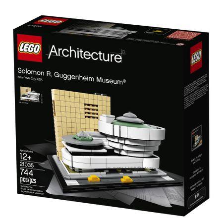 Klocki LEGO Architecture Muzeum Solomona R. Guggenheima 21035 @Emag