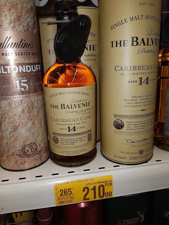 Whisky Balvenie 14 YO Caribbean Cask