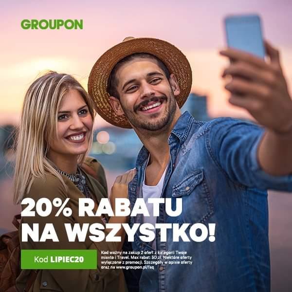 """20% """"Prawie"""" na wszystko w Groupon"""