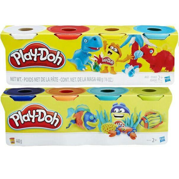 Zestaw 4 kubków Play Doh / Biedronka
