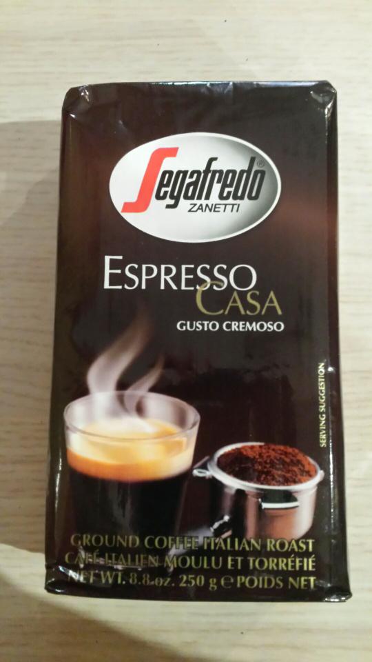 Segafredo Espresso Case 250g za 4.99zl - Carrefour