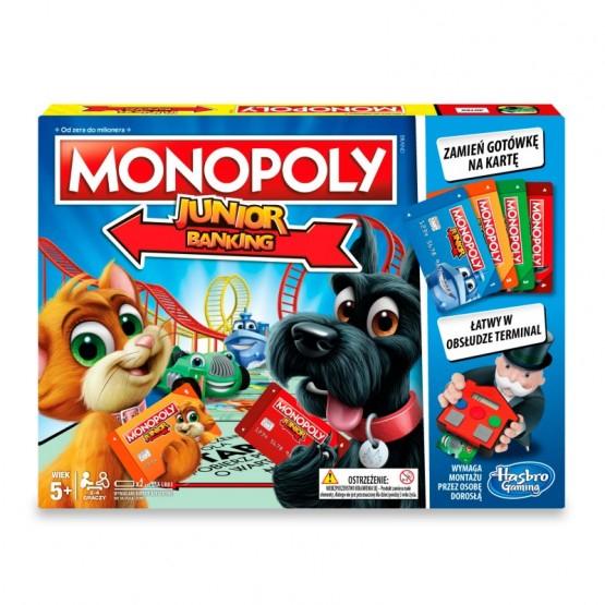 Monopoly junior electronic banking na livro