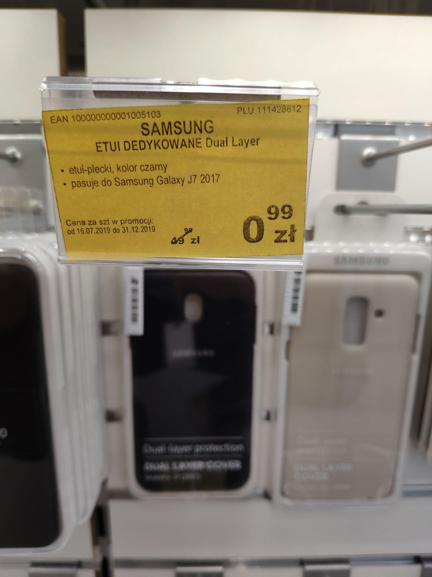 Etui Samsung za 0.99zł Euro RTV AGD Poznań Plaza