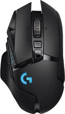 Mysz Logitech G502 LIGHTSPEED Bezprzewodowa / gamingowa (910-005567)