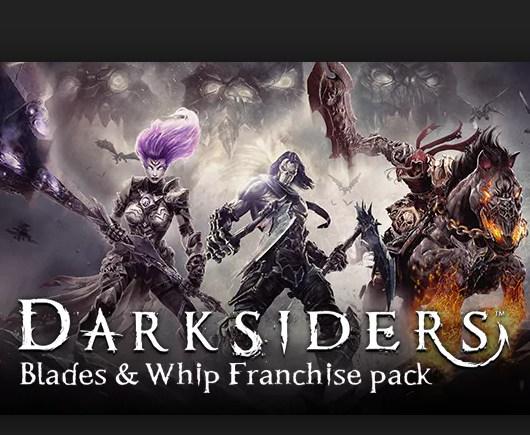 Darksiders I, II, III z dodatkami na steam