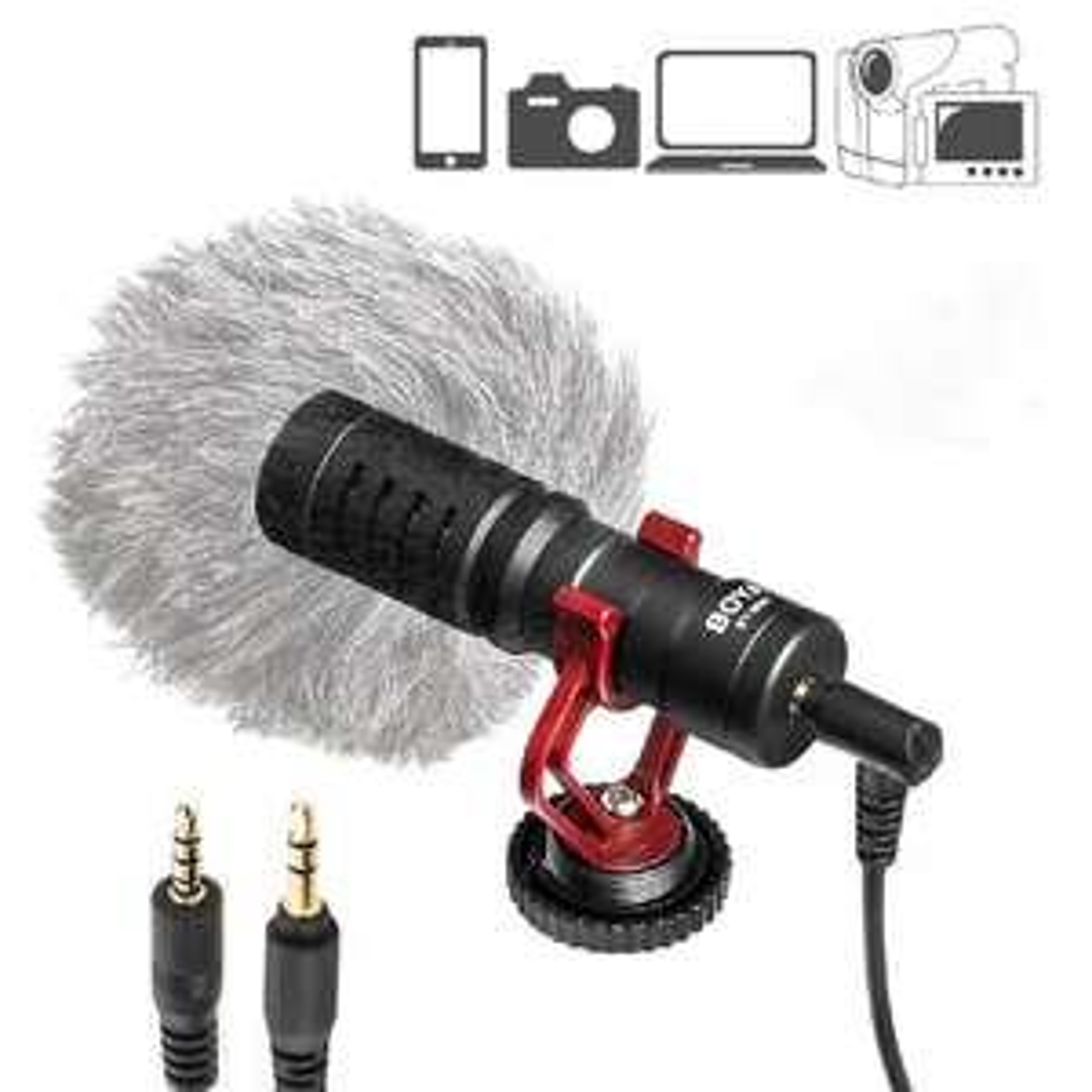 Boya BY-MM1 Mikrofon pojemnościowy