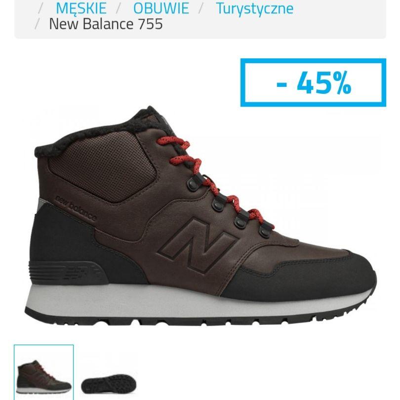 New Balance 755  BUTY OUTDOOR MĘSKIE NEW BALANCE Kod produktuHL755MLC