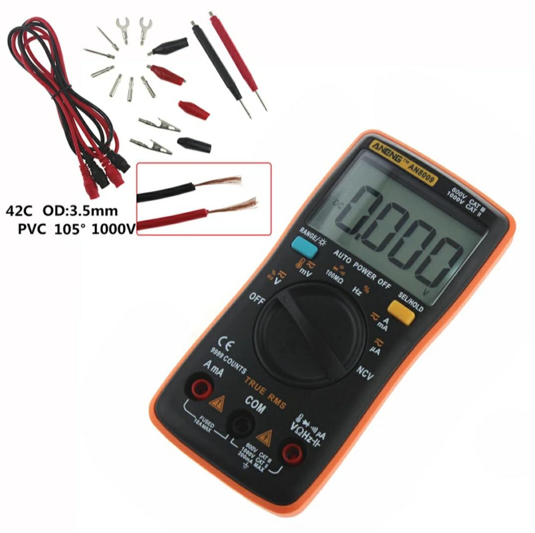 Multimetr ANENG AN8009 za 17,5$