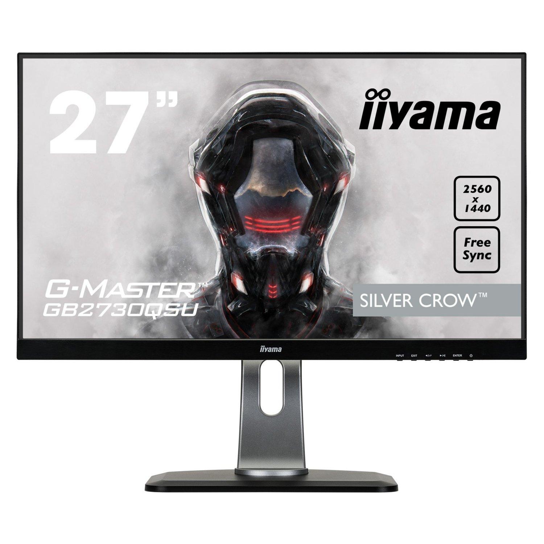 "Monitor IIYAMA G-Master GB2730QSU-B1, 27"", QHD, TN, 1ms, AMD FreeSync"