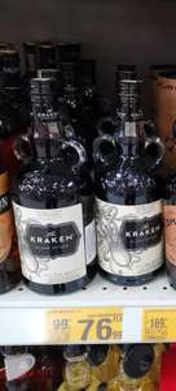 Rum Kraken Spiced Auchan Gdańsk Szczęśliwa