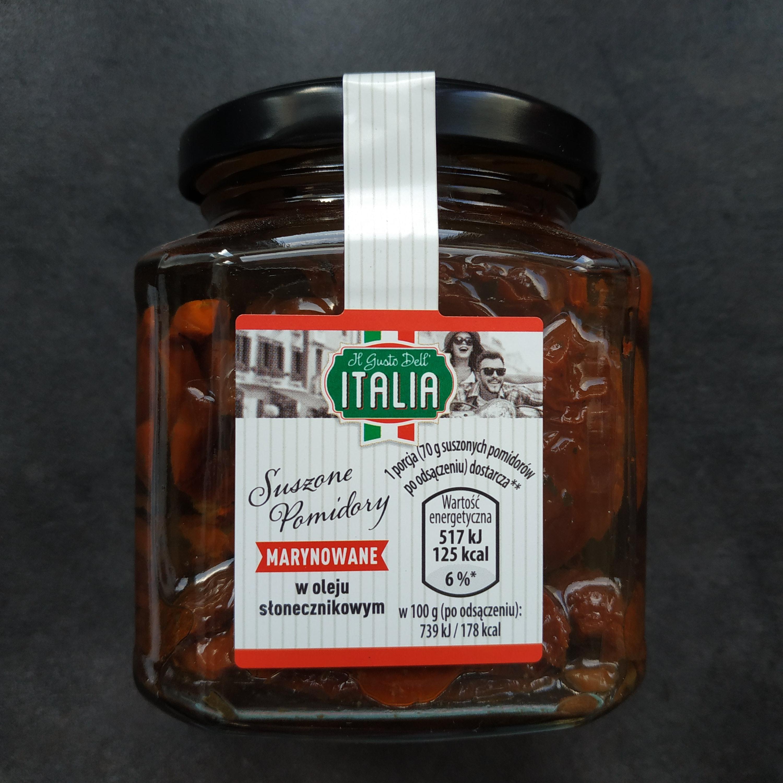 Pomidory suszone marynowane 280g ALDI