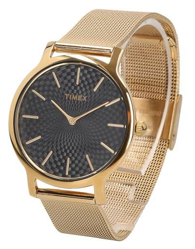 Zegarek damski TIMEX METROPOLITAN GOLD TW2R36104
