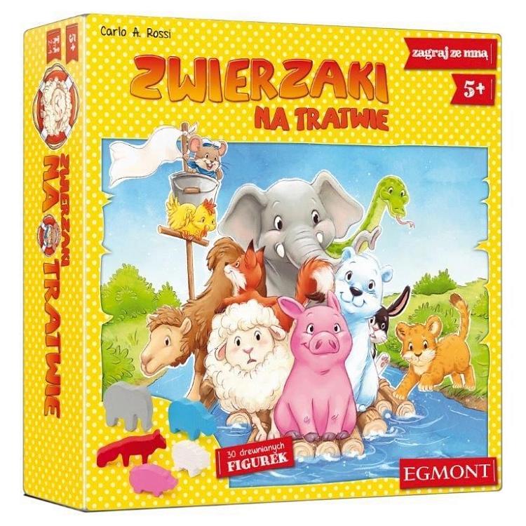 Gry dla dzieci:  Zwierzaki na tratwie; Zlot Pingwinów