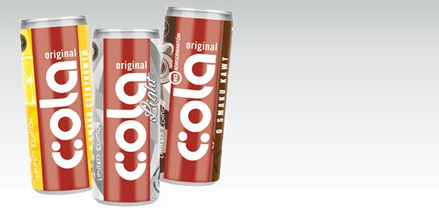 Cola Original Light puszka 0,25l Biedronka