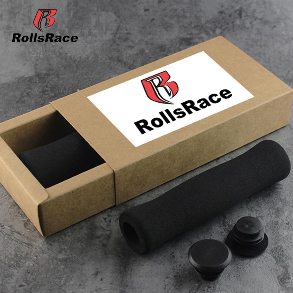 Nakładki piankowe na rączki do roweru RollsRace (czerwone/czarne)