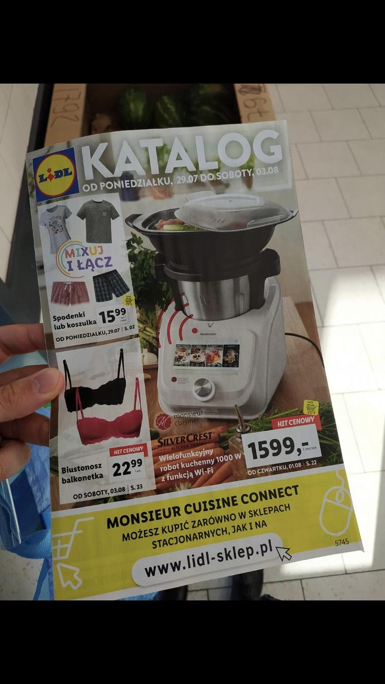 Monsieur-Cuisine wielofunkcyjny robot kuchenny