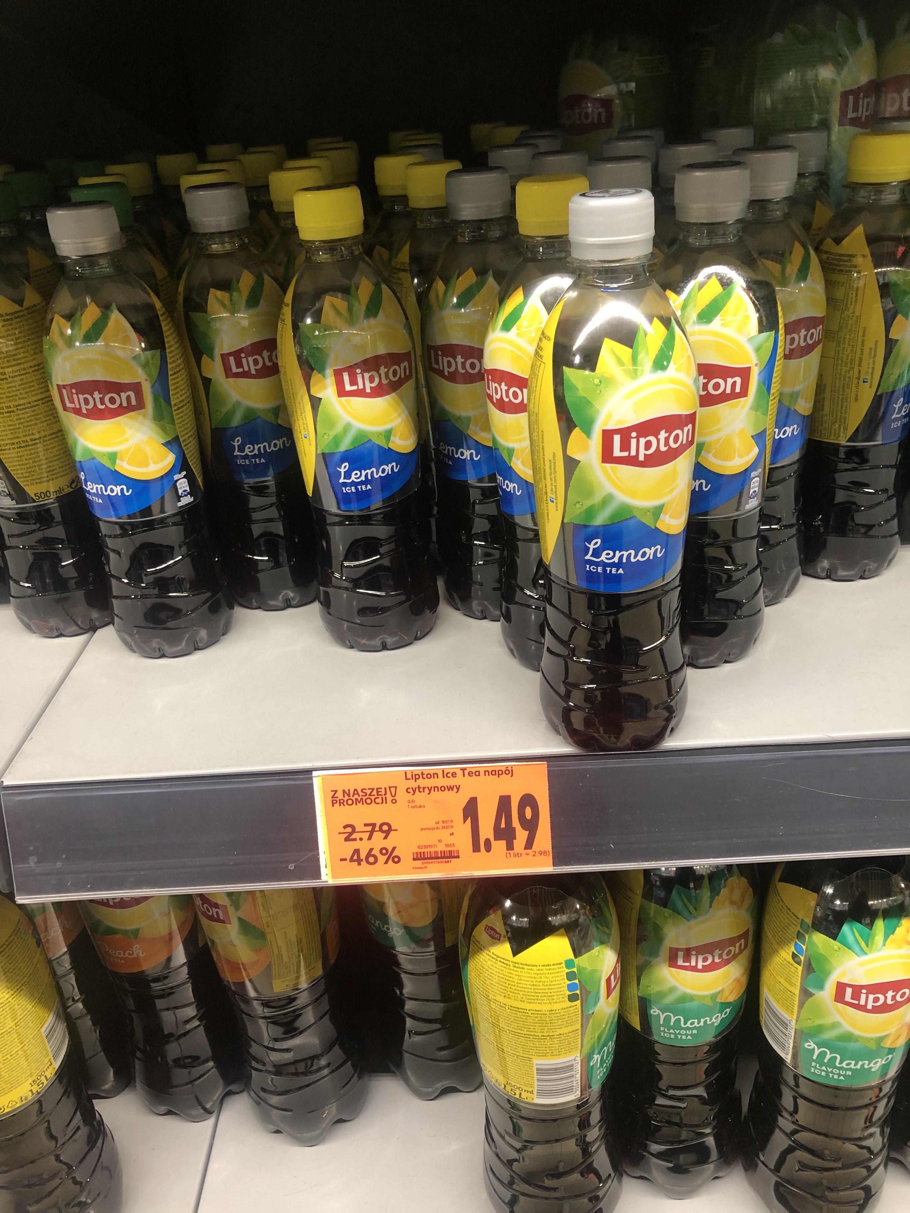 Lipton Ice Tea 0.5L po taniości Kaufland