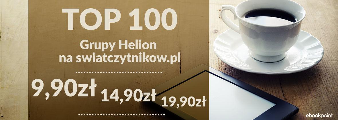 Top 100 ebooków wg swiatczytnikow po 9,90, 14,90 i 19,90 zł @ ebookpoint